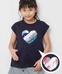 a.v.v(KID'S)/[100-130]トゥインクルスパンコール半袖Tシャツ[WEB限定サイズ]/503013173