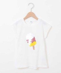 a.v.v(KID'S)/[140-150]トゥインクルスパンコール半袖Tシャツ/503013176