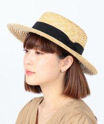 Ray BEAMS/Ray BEAMS / ストロー カンカン帽/502810910
