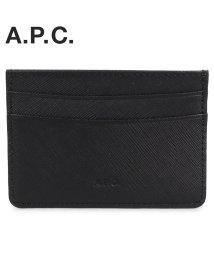 A.P.C./A.P.C. アーペーセー パスケース カードケース ID 定期入れ メンズ ANDRE CARD HOLDER ブラック 黒 PXBJQ-H63028 [1//503014936