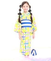 UNICA/【2020春夏】ドリーミングストライプ柄浴衣セット/503023804