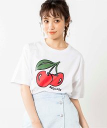 WEGO/CHERRYプリントTシャツ/503093833