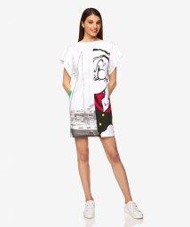 BENETTON (women)/【Popeyeコラボ】ポパイパネル切り替えオーバーサイズTシャツ/503121813