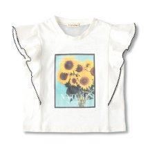 branshes/フラワーフォトプリントTシャツ/503127616