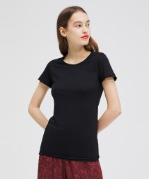 SISLEY/コットンモダールラウンドネック半袖Tシャツ・カットソー/503155519