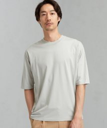 green label relaxing/SC ☆ LOTUS クロス クルーネック 5分袖 カットソー Tシャツ # /503160977