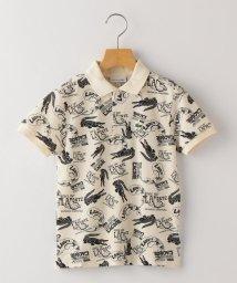 SHIPS KIDS/LACOSTE:ヘリテージ デザイン プリント ポロシャツ(100~130cm)/503170945