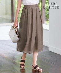 J.PRESS LADIES/【WEB限定色あり】洗えるブライトスパンボイル スカート/503171854