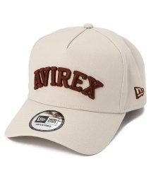 AVIREX/【×NEW ERA】9フォーティー Aフレーム ロゴキャップ アジャスタブル/9 FORTY A-FRAME LOGO CAP/502528025