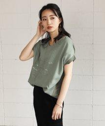 Bou Jeloud/ボタニカル3DプリントTシャツ/503125856