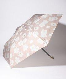 Afternoon Tea LIVING/ワントーンフラワー晴雨兼用折りたたみ傘 雨傘/503140555