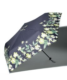 Afternoon Tea LIVING/ヘムフラワー晴雨兼用軽量折りたたみ傘 雨傘/503140561