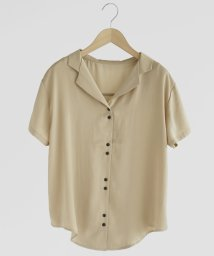 FIKA./FIKA. Satin short Shirt/503145646