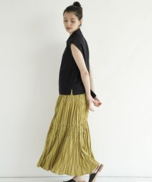 FIKA./FIKA. Tiered long Skirt/503145647