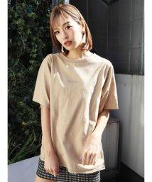 EMODA/ステッチルーズTシャツ/503151981