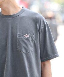 coen/ピグメントポケットワンポイントTシャツ/503155114