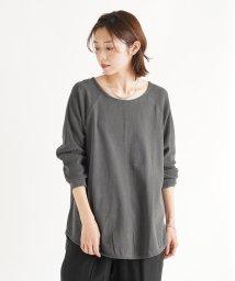 LASUD/[RADIATE] 【手洗い可】製品染め ロングTシャツ/503171154