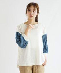 LASUD/[soeur7] バルーン袖ドッキングニット/503171162