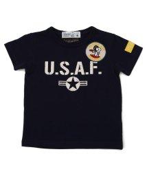 AVIREX/【KID'S】×ピーナッツ スヌーピー U.S.A.F. Tシャツ/AVIREX×PEANUTS U.S.A.F T-SHIRT/キッズ/503171996