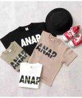 ANAP KIDS/ANAPロゴダメージミニ裏毛Tシャツ/503172129