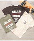 ANAP KIDS/バックプリント胸ポケットビッグTシャツ/503172130