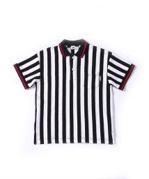 WASK/ストライプビッグポロシャツ(90cm~100cm)/503172216