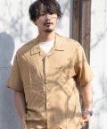 Nylaus/NYLAUS ビッグシルエット レーヨン 半袖 開襟シャツ オープンカラーシャツ オーバーシャツ/503172411