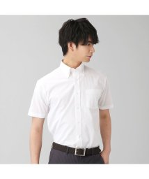 BRICKHOUSE/【ディズニー】ワイシャツ 半袖 形態安定 ボタンダウン 綿100/503172451