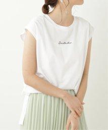 framesRayCassin/シルケット刺繍ノースリタンク/503172526
