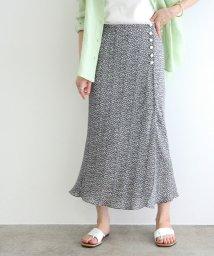 ROPE' mademoiselle/【TV着用】フラワープリントマーメイドスカート/503172710