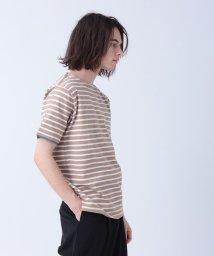 tk.TAKEO KIKUCHI/フェイクレイヤードボーダープルオーバー/503172903