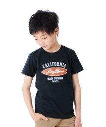 GLAZOS/天竺・サーフボードプリント半袖Tシャツ/503172933