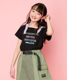 JENNI love/ロゴストラップTシャツ/503173473
