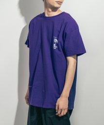 Rocky Monroe/MARK GONZALES マークゴンザレス Tシャツ 半袖 メンズ レディース ビッグシルエット プリント カジュアル ストリート 綿 コットン クルーネック/503173736