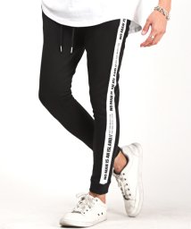 LUXSTYLE/ポンチサイドラインタイトジョガーパンツ/ジョガーパンツ メンズ ポンチ サイドライン/503174065