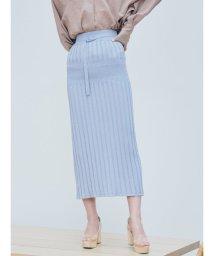 LAGUNAMOON/アイレットリブニットタイトスカート【セットアップ着用可】/503024804