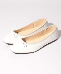 Shoes in Closet/リボン スクエアトゥ フラットバレエシューズ/503166673