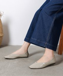 Shoes in Closet/2Way スクエアトゥ Vカット フラットパンプス/503166675