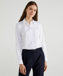 BENETTON (women)/ストレッチ長袖ボディシェイプシャツ・ブラウス/503166682
