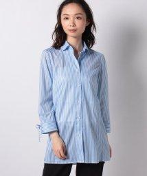 LA JOCONDE/【洗える】プリントメッシュシャツ/503167911