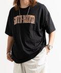 Nylaus/先染め ワイドボーダー クルーネック 半袖 Tシャツ/503174857