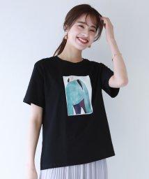 BLUEEAST/半袖イラストTシャツ/503175062