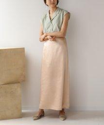 Bou Jeloud/ヴィンテージサテンスカート/503145505
