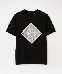 LOVELESS MENS/ハンカチ コンビ Tシャツ/503155147
