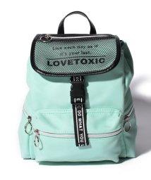 Lovetoxic/フラップメッシュフェイクレザーミニリュック/503155360