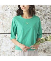 Liliane Burty/クールヴェール 吸湿冷感 Tシャツ/503175384