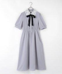 framesRayCassin/5分袖衿レースワンピース/503177822