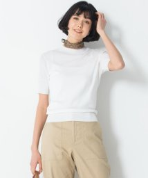 NIJYUSANKU/【洗える】ALBINIセーターマシーン 半袖ニット/503177979