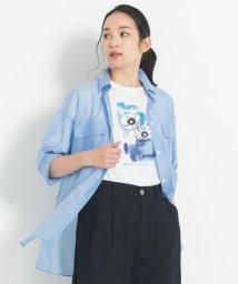 JIYU-KU(LARGE SIZE)/【マガジン掲載】PENELOPE グラフィックTシャツ(検索番号G24)/503177984