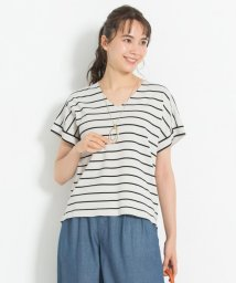 JIYU-KU(LARGE SIZE)/【マガジン掲載】ビスコースストレッチ Vネックプルオーバー(検索番号G29)/503177996